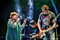Věra Špinarová s kapelou Adama Pavlíka - Rožnov p.Radh. 17.7.2015 - obrázek 8