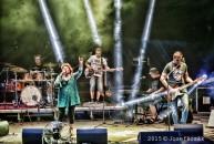 Věra Špinarová s kapelou Adama Pavlíka - Rožnov p.Radh. 17.7.2015 - obrázek 11