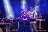Věra Špinarová s kapelou Adama Pavlíka - Rožnov p.Radh. 17.7.2015 - obrázek 25
